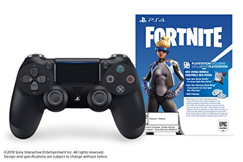 Best Sony Dualshock 4 Wireless Controller for PlayStation 4 – Fortnite Jet Black – PlayStation 4