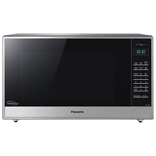 Panasonic NN-ST975S 2.2 Cu. Ft. Built-In/Countertop Cyclonic Wave Microwave Oven w/Inverter Technology - Stainless Steel (Certified Refurbished)