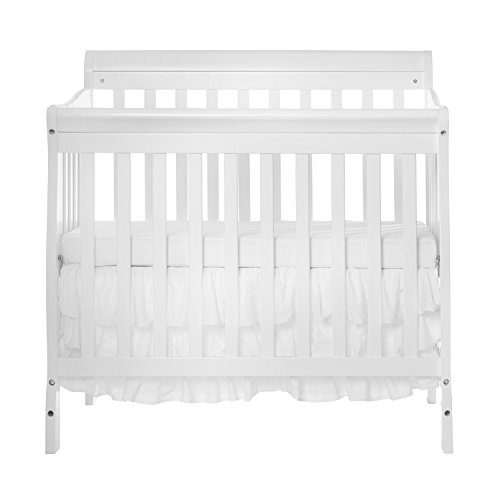 Dream On Me Folding Crib (Dream On Me 4 in 1 Aden Convertible Mini Crib)