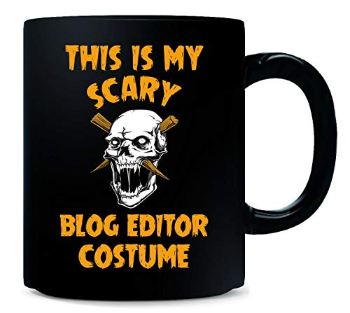 This Is My Scary Blog Editor Costume Halloween Gift - Mug -