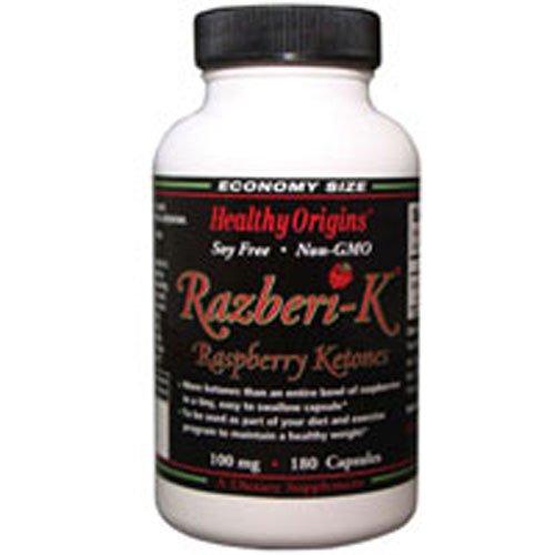 Healthy Origins Raspberry Ketones 100Mg 180 Cap
