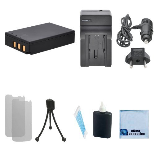 PS‑BLS1 Li-ion Battery For Olympus Evolt SLR + Car/Home Charger for E-400, E-410, E-420, E-450, E-620, E-P1, E-P2, E-P3, E-PL1, E-400, E-410, E-420, E-450, E-620, E-P1, E-P2, E-P3, E-PL1, PS-BLS1, BLS-01, E-PL3, E-PM1 & More.. Digital Camera + Complete Starter Kit | BLS-1 ()