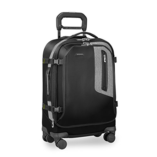 Briggs & Riley Brx Explore Domestic Expandable Carry on, Black by Briggs & Riley
