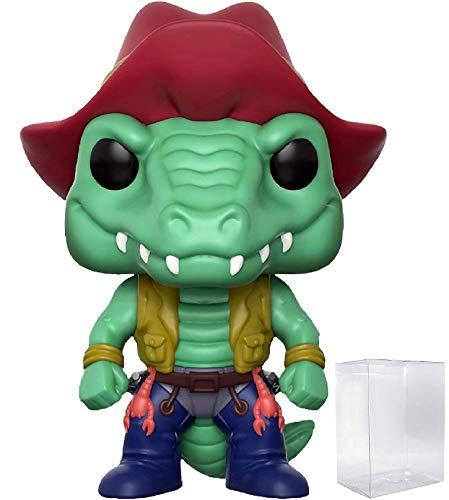 Funko Pop! Animation: TMNT Teenage Mutant Ninja Turtles - Leatherhead Specialty Series Exclusive Vinyl Figure (Includes Pop Box Protector -