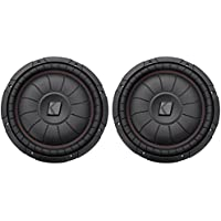 (2) Kicker 43CVT124 12 Single Voice Coil 4-Ohm Car Stereo Subwoofers totaling 800 Watt