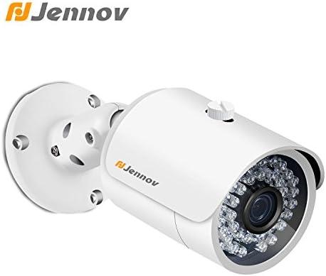 Jennov PoE cámara de Seguridad IP Sistema de vigilancia para el ...