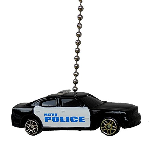 Maisto 2006 Dodge Charger '06 Metro Police Car Cruiser Ceiling Fan Pull Light Chain