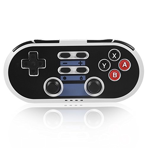 Switch Controller, Wireless 4 in 1 Retro Game Controller Switch Pro Controller PS3 Controller PC Controller Android Bluetooth Controller 6-Axis Joypad Joystick