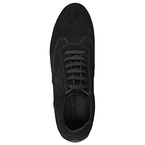 Sparco, Herren Sneaker Noir Velours