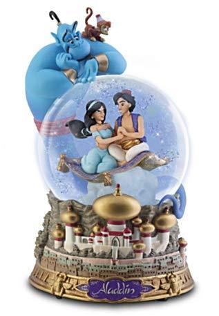 (Disney's Aladdin Glitter Globe - 6.75