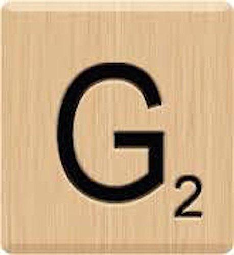買取 10 genuine scrabble letter g tiles lazar laser engraved