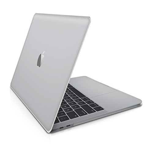 Crystal Plastic Hardcover Case (kwmobile Elegant and light weight Crystal Case for Apple MacBook Pro 15