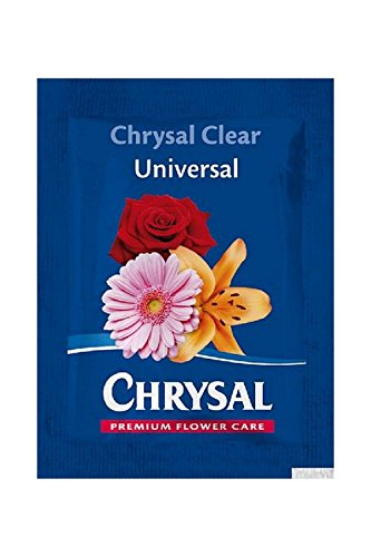 Chrysal Clear Universal Flower Food -200 Packets by Chrysal