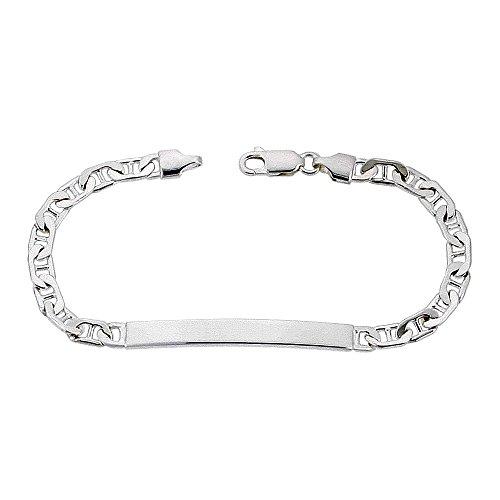 Silver Id Bracelet - 2