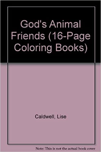gods animal friends 16 page coloring books
