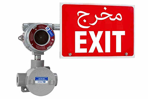 Explosion Proof Exit Signs - Explosion Proof Exit Sign - Class I Division 1 & 2 - IP65 - 4