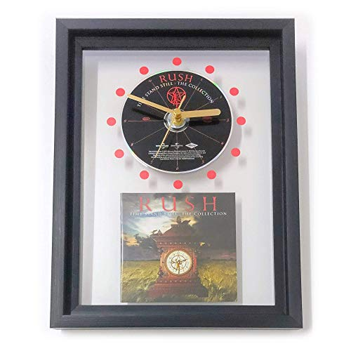 (RUSH - Time Stand Still: FRAMED CD ART CLOCK/Exclusive Design)