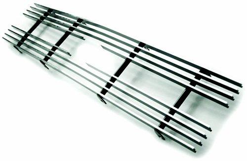 Set Aluminum Billet Grille - IPCW CWBG-9192S10 Polished Aluminum Cut-Out Billet Grille Set