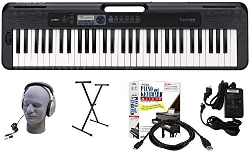 Casio CT-S300 61-Key Premium Keyboard Package with ...