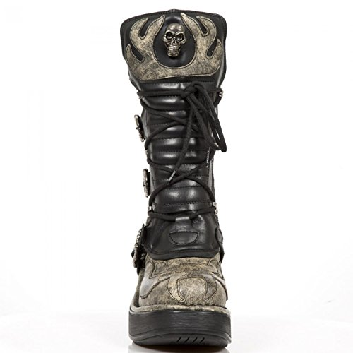 New Rock Handmade M 8373 CZ4 Beige Damen Highheel Stiefel