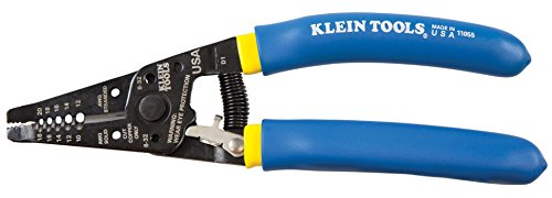 092644740572 - Klein Tools 11055 Wire Stripper and Cutter Double Dipped carousel main 0