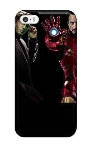 New Tpu Hard Case Premium Iphone 5/5s Skin Case Cover(avengers)