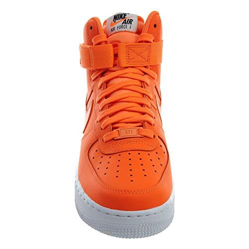 Zapatillas Multicolor Lx Wmns Force Mujer Para Hi Orange Air Lthr 1 white 001 total Nike total Orange dX0pnxqwvv