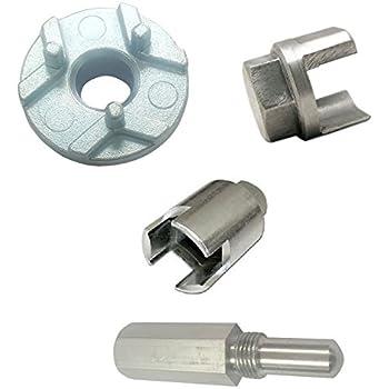 RA 3 x Clutch Removal Tools + Piston Locking Screw for Husqvarna & Echo Shindaiwa