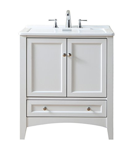 Stufurhome GM-Y01W 30.5-Inch Pure White Single Laundry Sink by Stufurhome (Image #1)