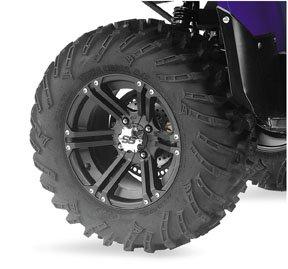 ITP Mud Lite XL, SS212, Tire/Wheel Kit - 26x10x12 - Black 43166R