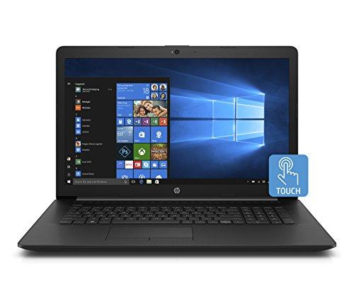 HP 17-inch Laptop, Intel Core i3-7020U Processor, 8 GB RAM, 1 TB Hard Drive, Windows 10 Home (17-by0020nr, Black) (Touch Screen Laptop Hp 17 Inch)