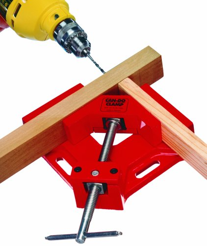 Join picture frames or cabinet frames. 2-3/4-Inch width frame capacity. Sliding T-handle for high clamping pressure. Moveable jaws. Oblong mounting holes allow easy mounting to a workbench. Sturdy aluminum construction. Featured and recommend...