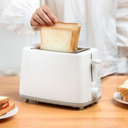 2-pièces à puce Grille-pain four à pâtisserie Ustensiles de cuisine Petit-déjeuner Grille-pain blanc Accueil automatique Sandwich machine rapide