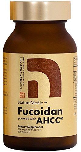 NatureMedic Fucoidan AHCC Brown Seaweed Immunity Supplement