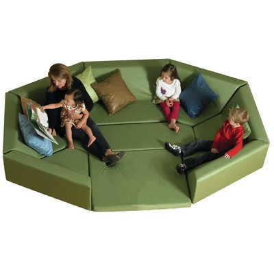 Cozy Woodland Octagonal Welcoming Hollow Seating Group