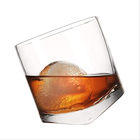 GGSZM EU Whisky Glass-Heavy Vintage Whiskey Glass-Rum, Scotch, Bourbon Glass-Bar Accesorios, Heavy 300ml