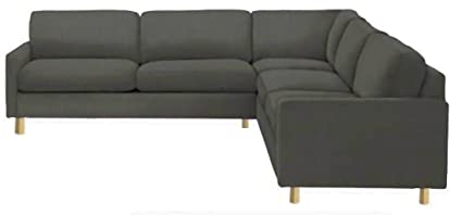 Great Easy Fit The Heavy Duty Cotton Karlstad Corner Sofa Cover (2+3/3