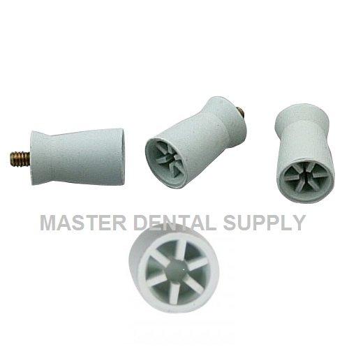 Dental Prophy Cups Screw Shank 144 Pcs/Box Screw Type Polishing Cups 6 - (144 Type)