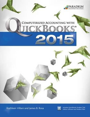 Computerized Accounting Quickbooks 2015