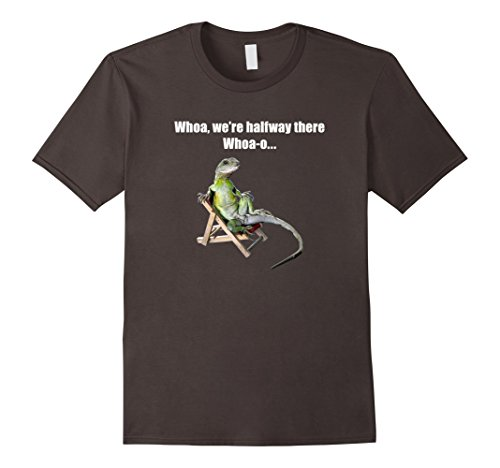 Price comparison product image Men's Funny Misheard Lyric - Lizard on a chair Large Asphalt