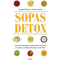 Sopas detox book jacket