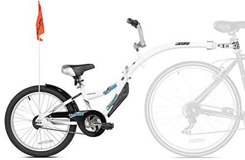 WeeRide Co-Pilot Bike Trailer, White (Renewed) (Weeride Bike Trailer)