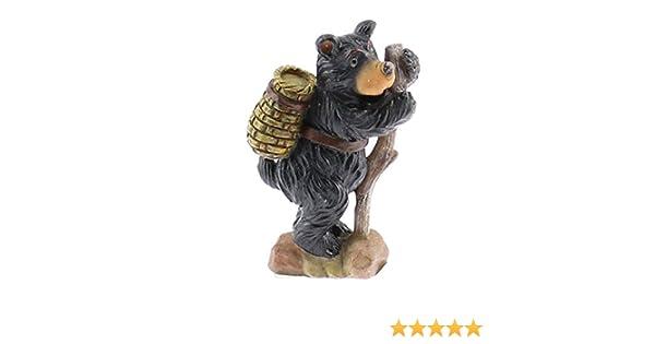 Pewter Hiking Man  Figurine 1 1//4 inch