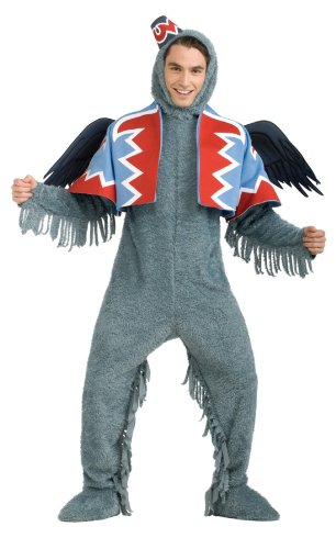 Wizard Of Oz Costume Flying Monkey (R888826 (Std L) Flying Monkey Deluxe Adult)
