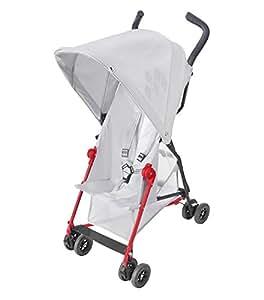 Maclaren Mark II Stroller, Silver