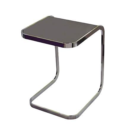 Magnificent Amazon Com Liruipengbj Gwdj Side Table Tempered Glass Side Inzonedesignstudio Interior Chair Design Inzonedesignstudiocom