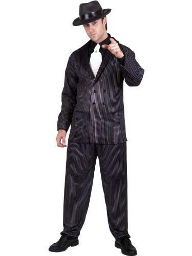 [1920s Gangster Adult Costume] (20s Gangster Adult Costumes)