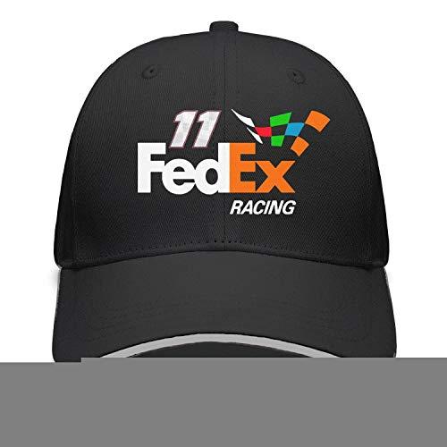 (YUIOA Men/Womens FeDEX-Racing-Hamlin-11- Plain Adjustable Peaked Cap Street Dancing Baseball Hat)