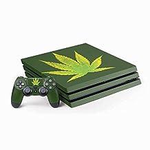 Rasta PS4 Pro Bundle Skin - Marijuana Leaf Light Green | Skinit Lifestyle Skin