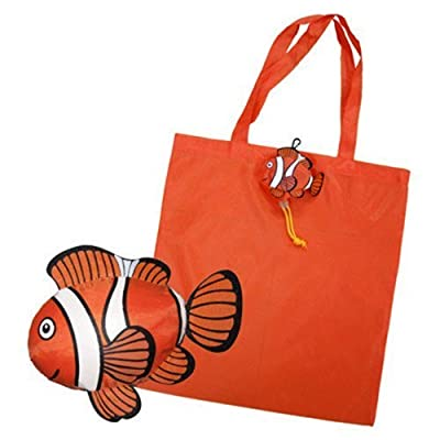 MKM 6pcs Fish Shopping Bag Foldable Bag Handle Bag in Many Colors Available Folding Bags,Colorful Reusable Eco Bags Shoulder Tote, Fish Shopping Bag Foldable Bag Handle Bag Bags Colorful Reusable Eco Bags Shoulder Tote Product Description: Plastics shoppi